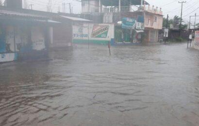 Contabilizan daños por lluvias en 120 casas del Istmo