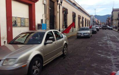 FPR realiza caravana motorizada a Miahuatlán, piden justicia por Tomás Martínez