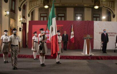 En Palacio Nacional, el acto de inicio del ciclo escolar