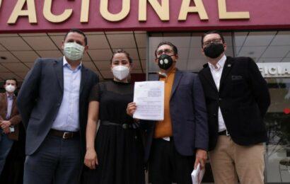 PRD denuncia ante INE presunto financiamiento ilegal de Morena