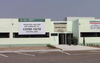 Hospital Militar de Ixcotel, uno de los ganadores del sorteo del Avión Presidencial