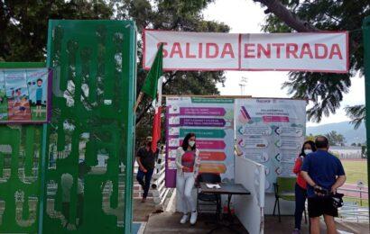 Cumplen parques públicos con medidas sanitarias para prevenir el COVID 19