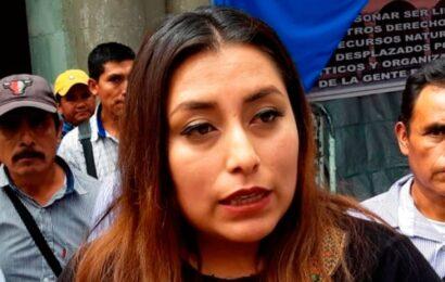 Alcaldesa de Tezoatlán cumplió ayer 24 horas retenida