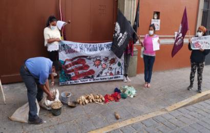 Protestan integrantes de CIPO para exigir declaratoria de emergencia para la Cuenca