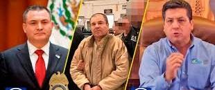 Circula documento de reunión entre Chapo, Cabeza de Vaca y García Luna