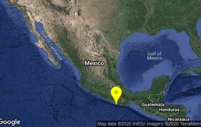 Se registra sismo de 4.9 grados en Oaxaca