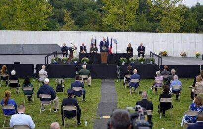 Trump y Biden, dos rivales en tregua en aniversario del 11/9