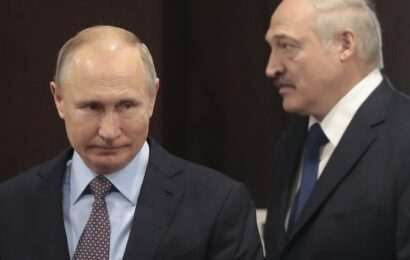 Discuten Putin y Lukashenko sobre la crisis en Bielorrusia