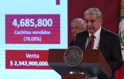 Se vendió el 78% de billetes del sorteo del avión presidencial