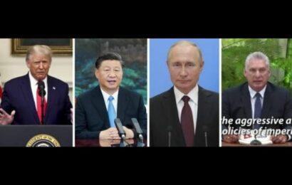 Trump acusa de la pandemia a China en su discurso ante la ONU