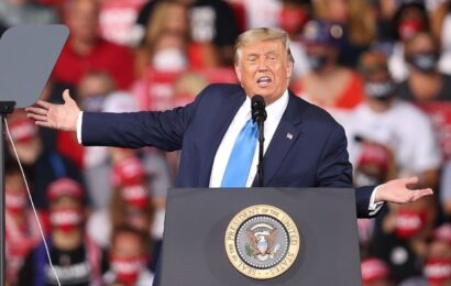 Trump amenaza la paz en EU si no gana elección de noviembre