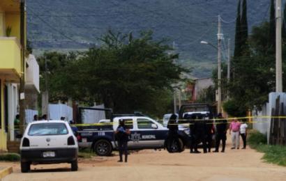Otra vez violencia en Xoxocotlán: matan a balazos a una mujer y lesionan a individuo