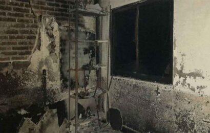 Incendian palacio municipal de San Antonio de la Cal