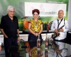 Patricia Alcaraz, embajadora de la cultura y música oaxaqueña