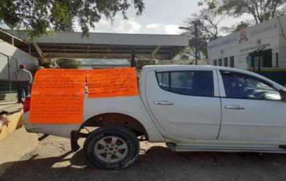 Toman Diconsa en Oaxaca para exigir abasto de almacenes