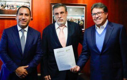 Recibe Senado solicitud de López Obrador para realizar consulta sobre juicio a expresidentes