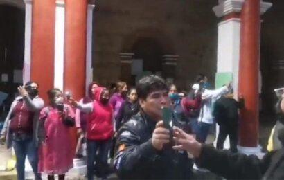 Corren a comerciantes que intentaba instalarse en el centro de Tlaxiaco