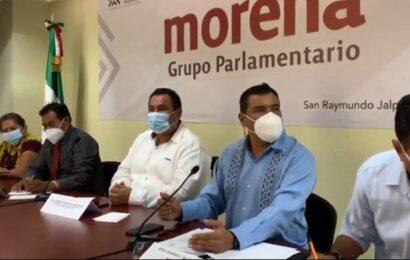 Rector de UABJO toca puertas de diputados de Morena; les pide aumentar presupuesto