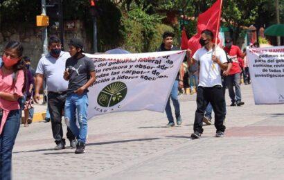 Reinicia movilizaciones el FPR; pide liberación de sus líderes
