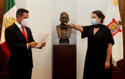 Designa Alejandro Murat a nueva titular del Instituto de la Juventud del Estado de Oaxaca