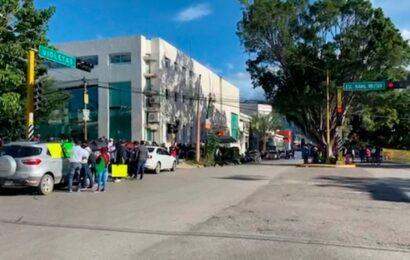 Por incumplimiento en el pago de bono covid, sector salud reanuda movilizaciones en Oaxaca