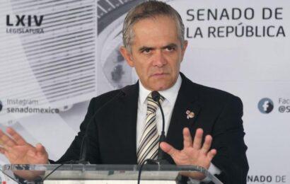 Inhabilitan a Miguel Ángel Mancera por un año para cargos en la CDMX