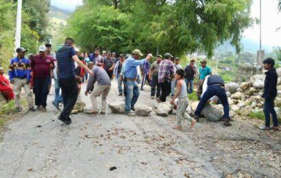 Levantan bloqueo carretero UBISORT y MULTI en la región de la Mixteca