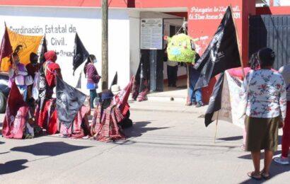 Mantiene protesta CIPO; se planta sobre la calle Bustamante