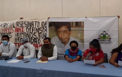 Integrantes de CODECI exigen justicia para militantes asesinados