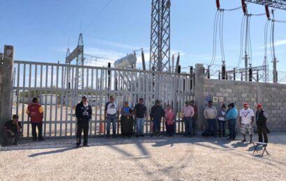 Intensifican bloqueo del parque eólico Bii Nisa; a una semana de su inicio