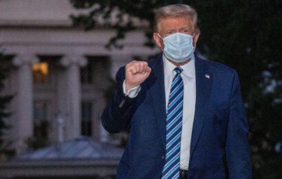 Trump lleva ya 4 días sin fiebre y 24 horas sin síntomas de Covid-19