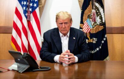 """Trump saldrá del hospital este lunes """"sintiéndose realmente bien"""""""