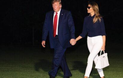 Trump da positivo al Covid-19, inicia aislamiento junto a su esposa