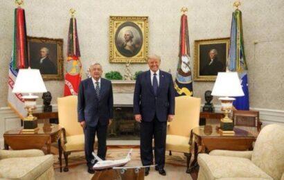 Trump se compara con AMLO: afirma que ambos quieren que sus países sean «grandes de nuevo»