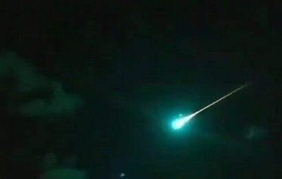 Reportan caída de meteorito en Ciudad Victoria, Tamaulipas