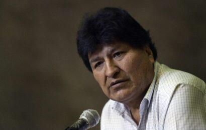 Evo Morales pide respetar la Constitución tras protesta en Bolivia