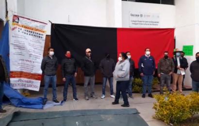 Trabajadores del SUTCSEIIO estallan huelga