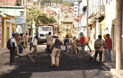 Reconstruye Ayuntamiento de Oaxaca 750 metros cuadrados de la calle Galeana