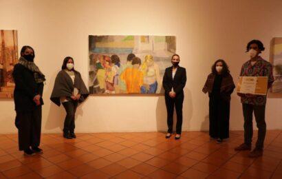 Celebran premiación de la Bienal de Pintura Rufino Tamayo