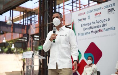 Sobran mujeres talentosas para gobernar Oaxaca: AM