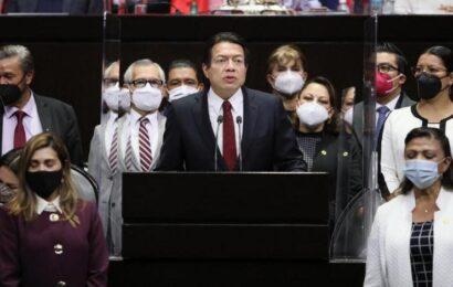 Mario Delgado se despide de la Cámara de Diputados para dirigir Morena