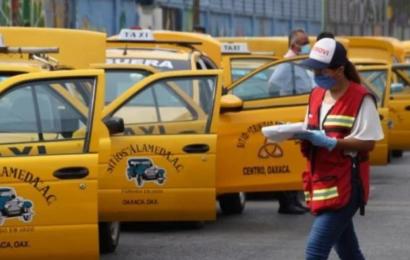 Taxistas de Oaxaca brindarán servicio gratuito a voluntarios que se apliquen vacuna experimental contra COVID19