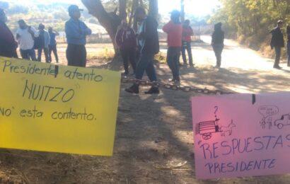 Se oponen a construcción del cuartel de la Guardia Nacional en Huitzo