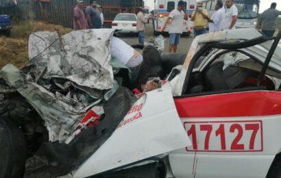 Fatal accidente en el Istmo; dos personas fallecidas, informe preliminar