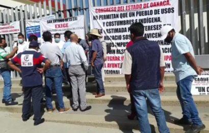 Habitantes de San Antonio de la Cal piden a nuevas elecciones en su municipio