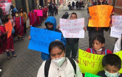 Desatención gubernamental genera protestas de Juxtlahuaca en la capital