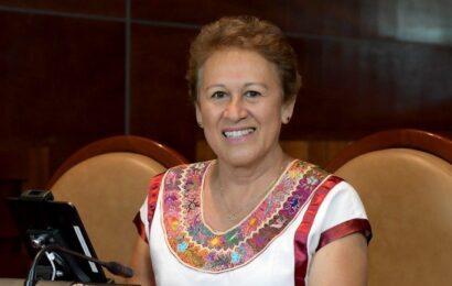 Delfina Guzmán, nueva presidenta de la Jucopo de LXIV Legislatura