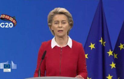 La UE defenderá en el G20 la necesidad de reforzar la OMS y prepararse para futuras pandemias