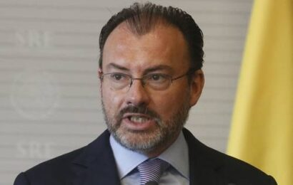 Espera la FGR el aval judicial para capturar a Videgaray