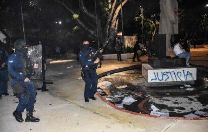 ONU insta a cesar agresiones contra mujeres manifestantes en México